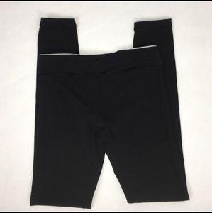 Ivivva Black Rhythmic Reversible Tights/Leggings 8